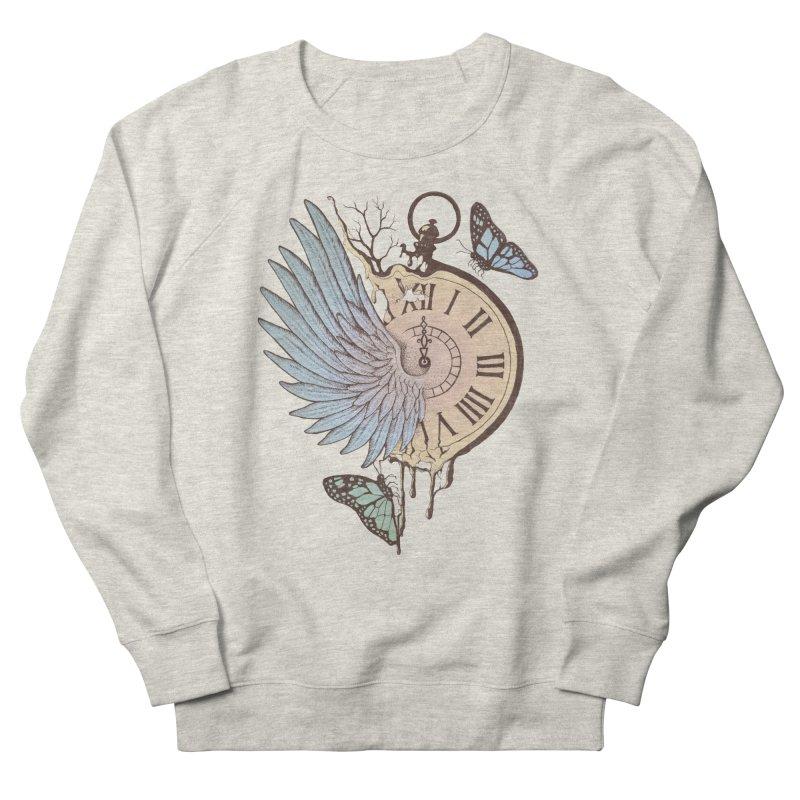 Le Temps Passe Vite (Time Flies) Men's Sweatshirt by normanduenas's Artist Shop