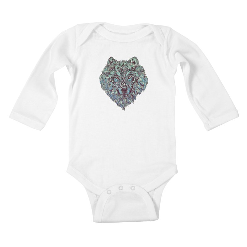 Lone Kids Baby Longsleeve Bodysuit by normanduenas's Artist Shop