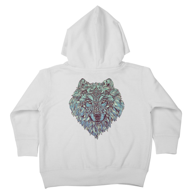Lone Kids Toddler Zip-Up Hoody by normanduenas's Artist Shop