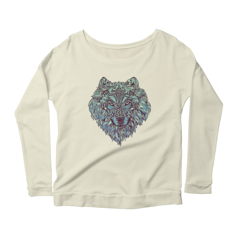 Lone Women's Longsleeve Scoopneck  by normanduenas's Artist Shop