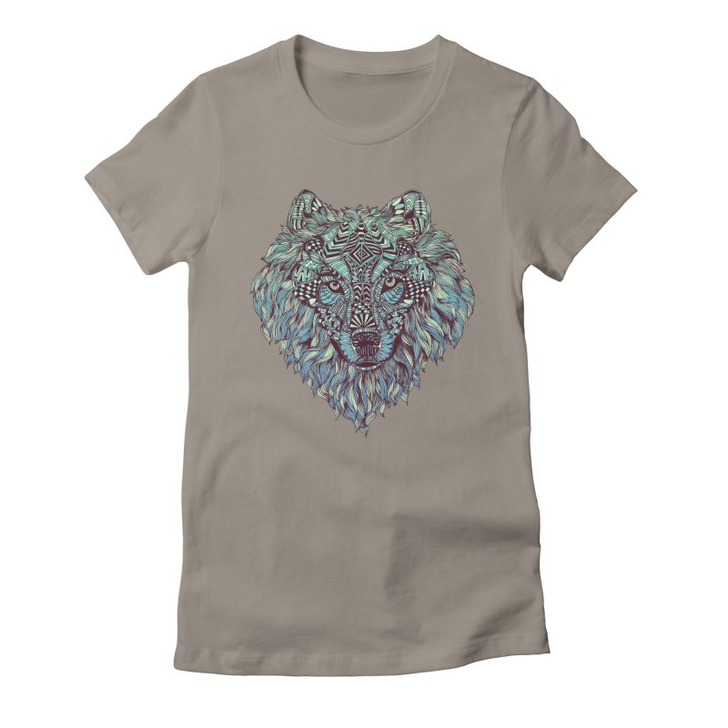 Lone Women's Fitted T-Shirt by normanduenas's Artist Shop