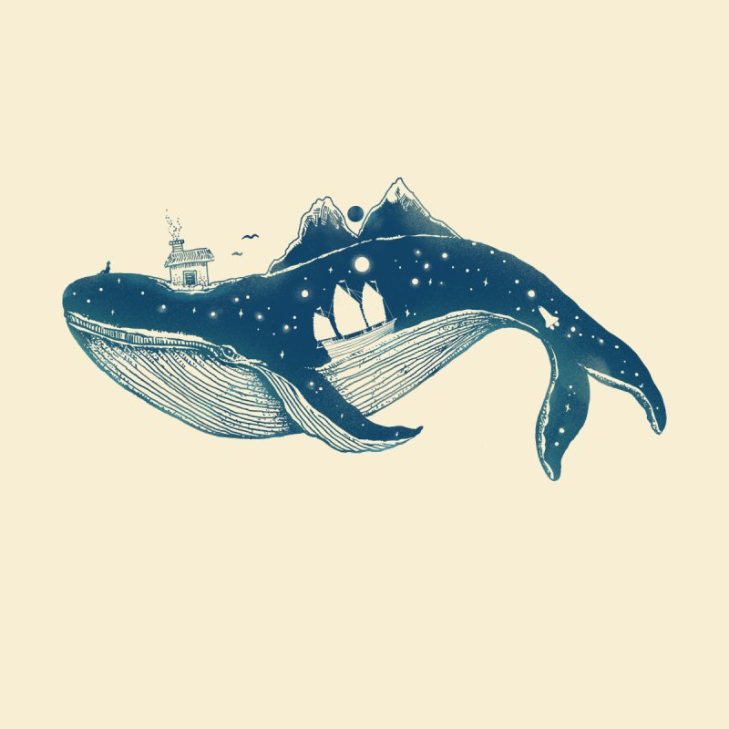 Home (A Whale from Home) Kids Toddler Pullover Hoody by normanduenas's Artist Shop