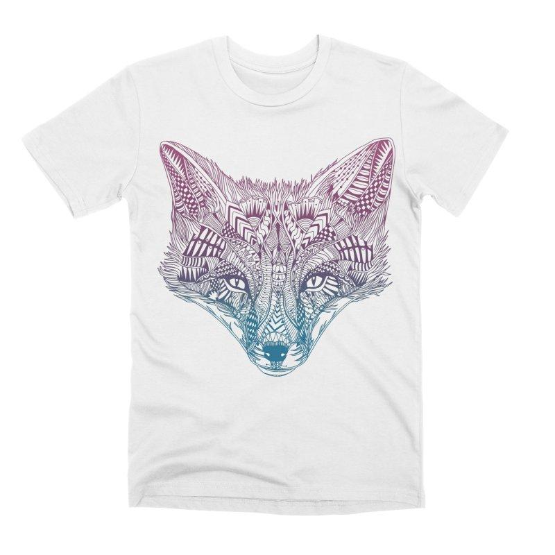 Fox (Clever) Men's T-Shirt by normanduenas's Artist Shop