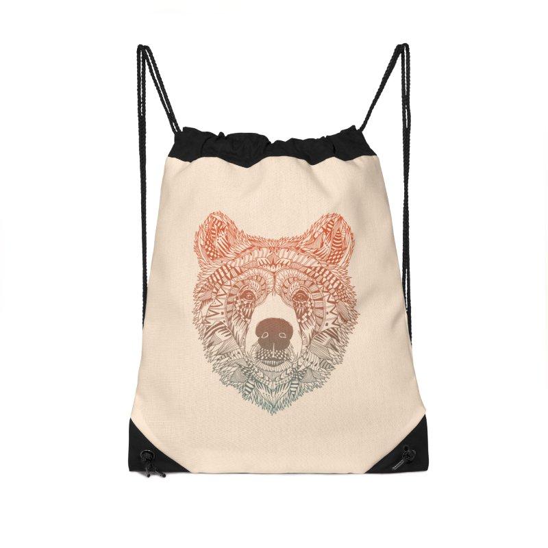 Bear (Savage) Accessories Bag by normanduenas's Artist Shop