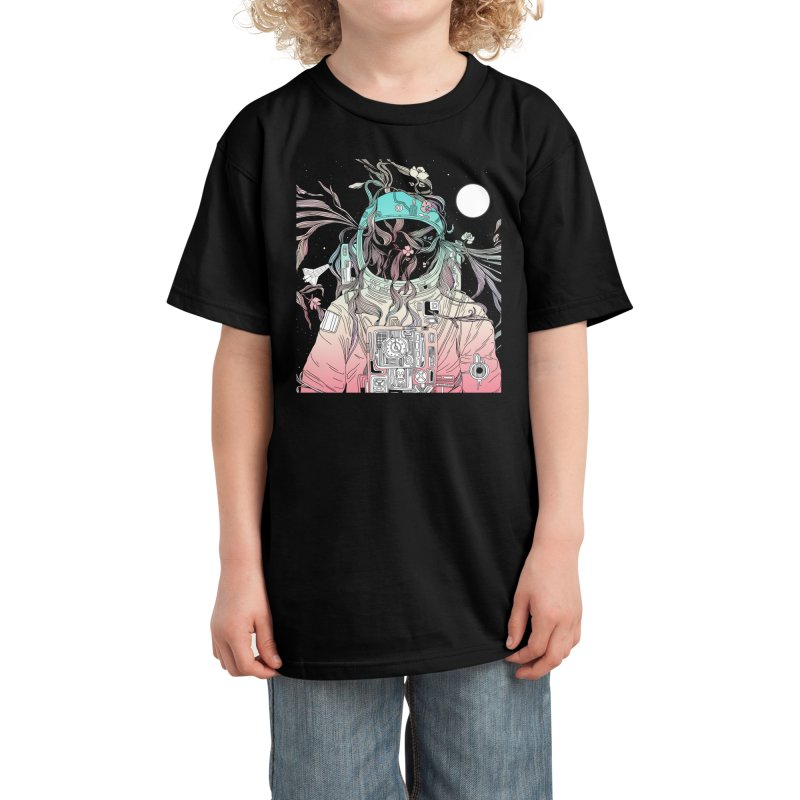 Life is Invading My Space Kids T-Shirt by normanduenas's Artist Shop