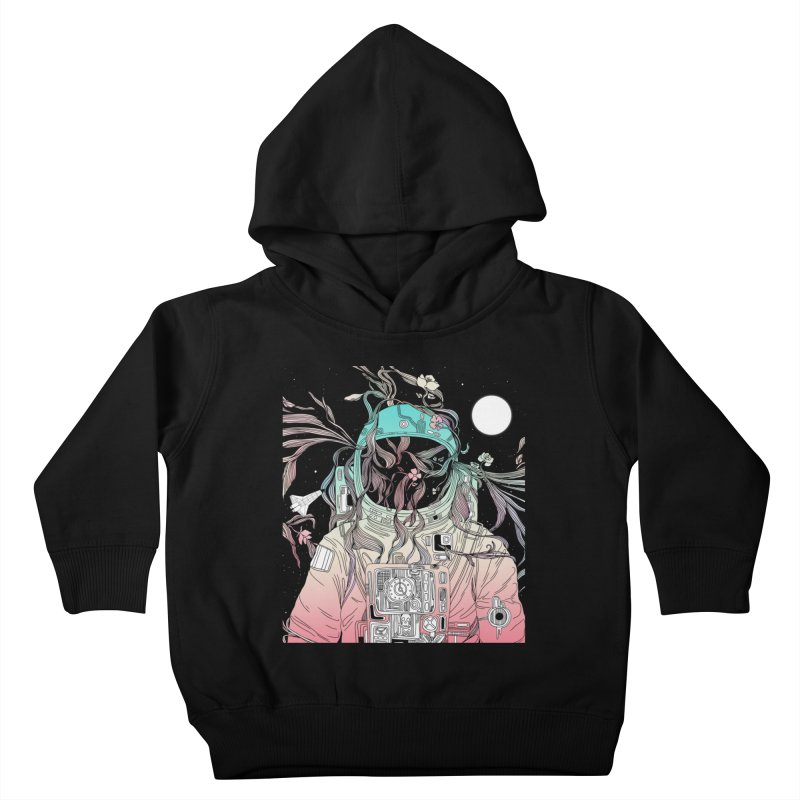 Life is Invading My Space Kids Toddler Pullover Hoody by normanduenas's Artist Shop