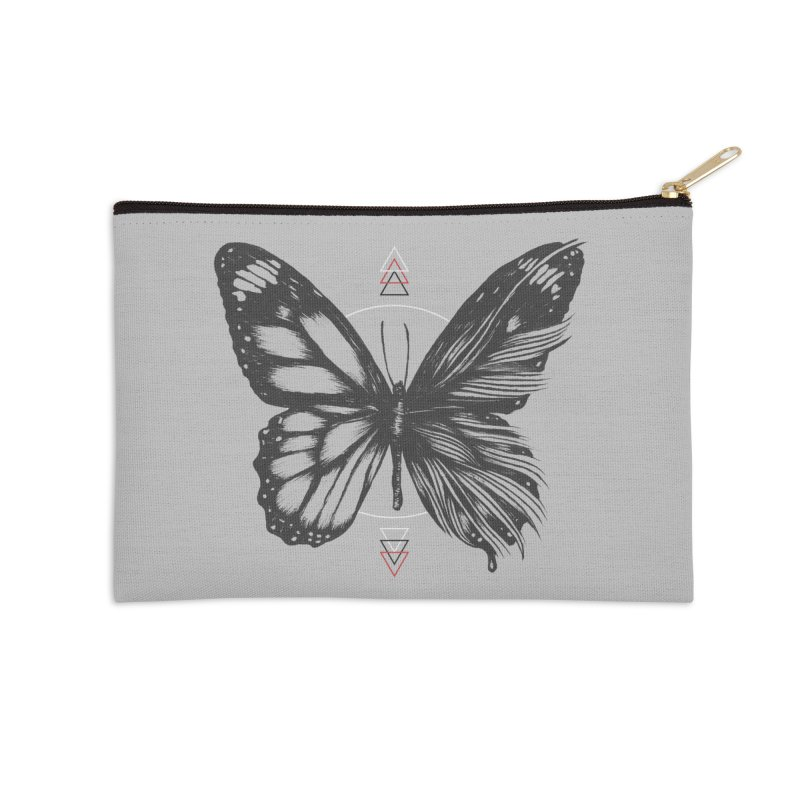 Delicate Existence Accessories Zip Pouch by normanduenas's Artist Shop