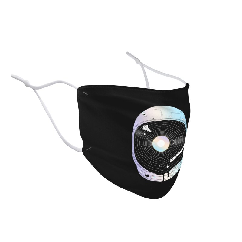In the Presence of a Deafening Silence Accessories Face Mask by normanduenas's Artist Shop
