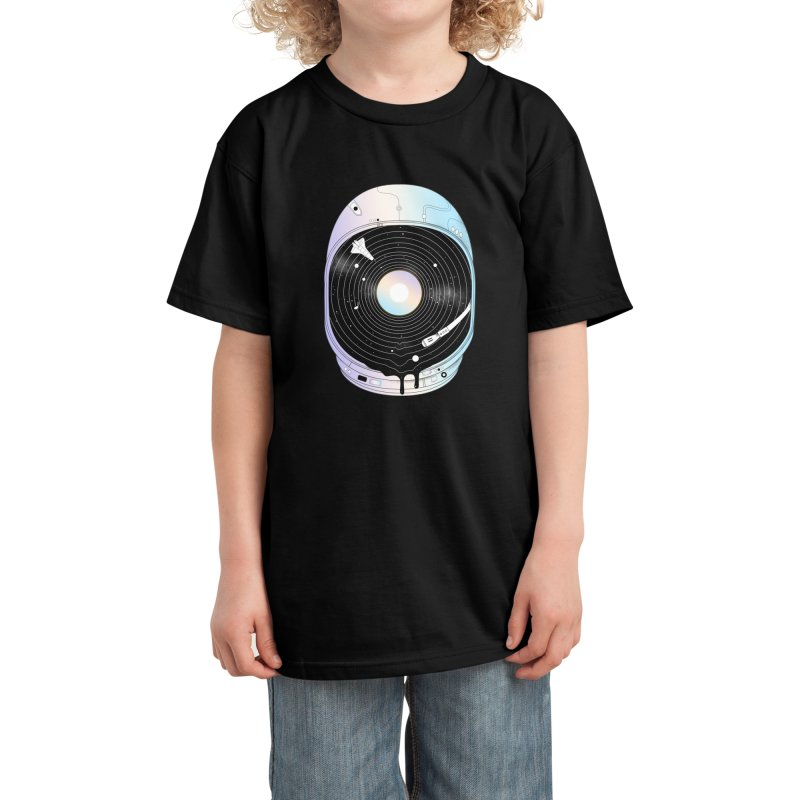 In the Presence of a Deafening Silence Kids T-Shirt by normanduenas's Artist Shop