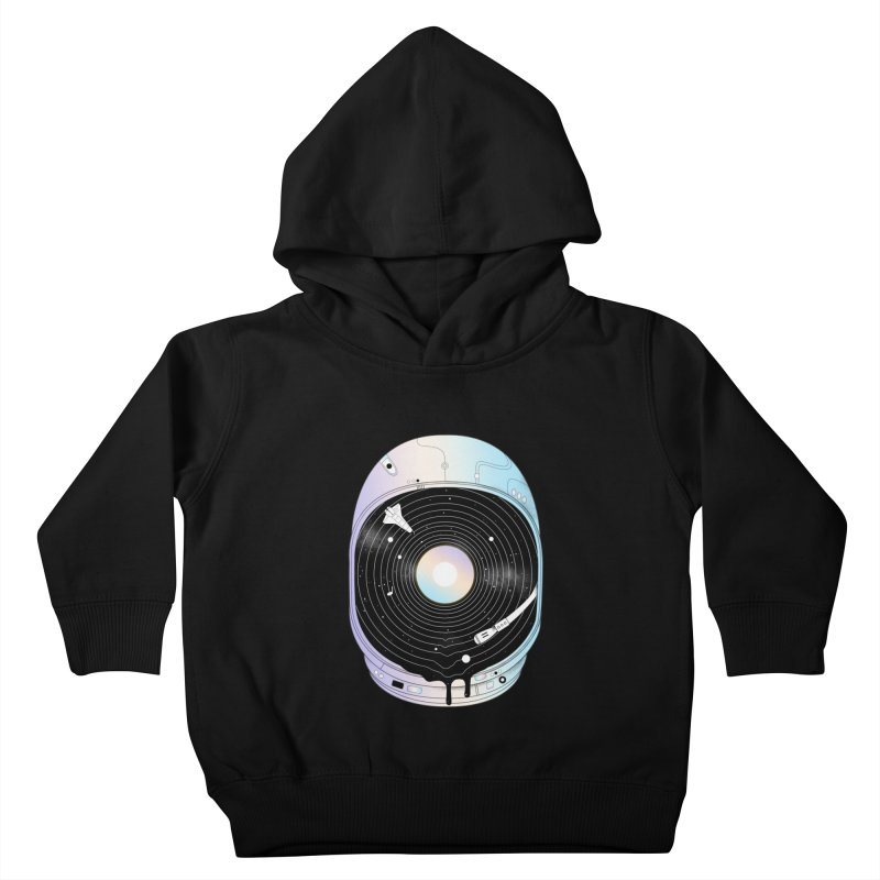 In the Presence of a Deafening Silence Kids Toddler Pullover Hoody by normanduenas's Artist Shop