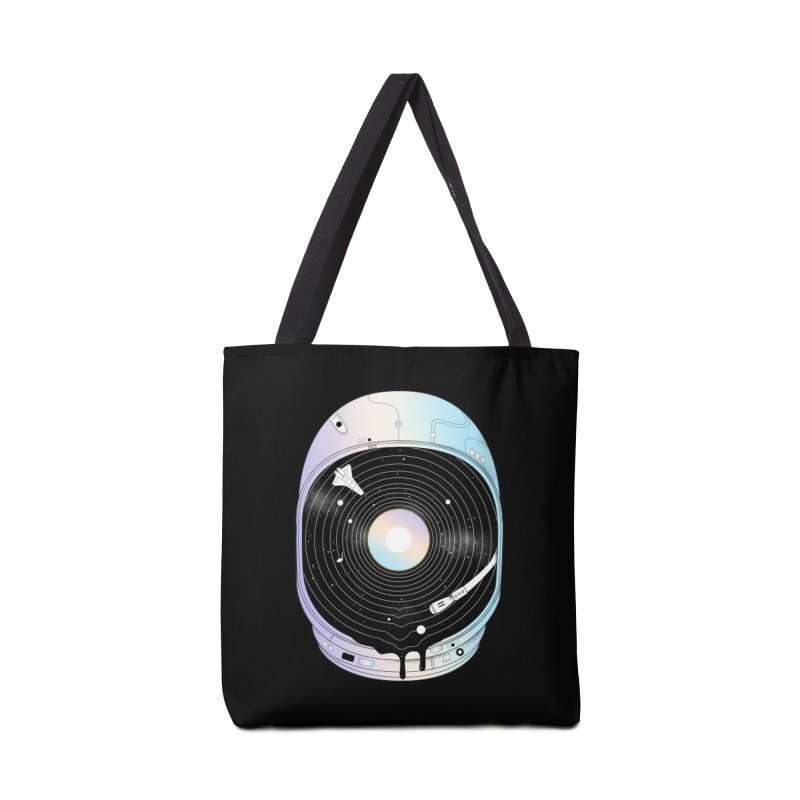 In the Presence of a Deafening Silence Accessories Bag by normanduenas's Artist Shop