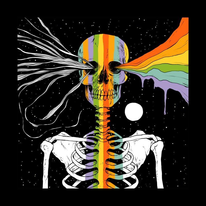 Dark Side of Existence Accessories Sticker by normanduenas's Artist Shop