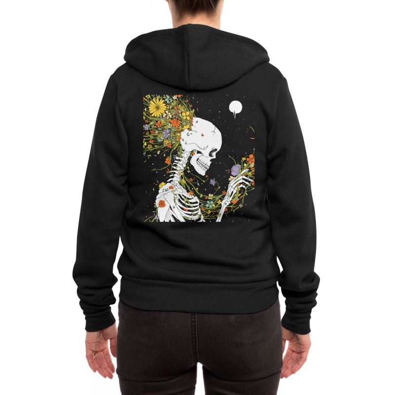 I Thought of a Life that Could Have Been Women's Zip-Up Hoody by normanduenas's Artist Shop