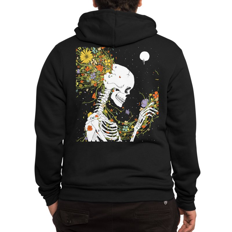 I Thought of a Life that Could Have Been Men's Zip-Up Hoody by normanduenas's Artist Shop