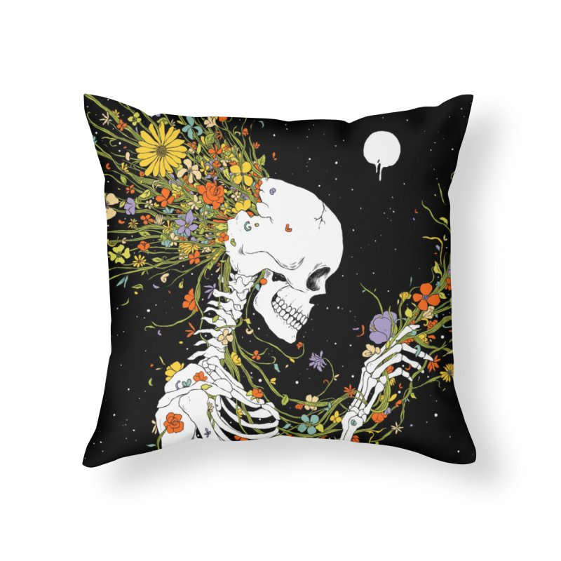 I Thought of a Life that Could Have Been Home Throw Pillow by normanduenas's Artist Shop