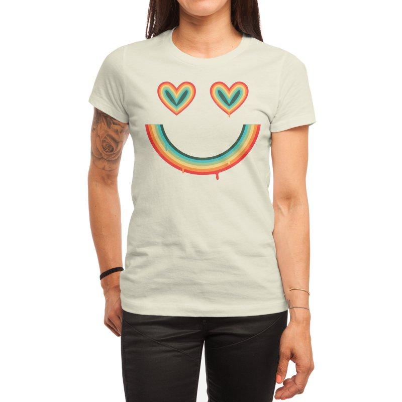 Happy Rainbow Women's T-Shirt by normanduenas's Artist Shop