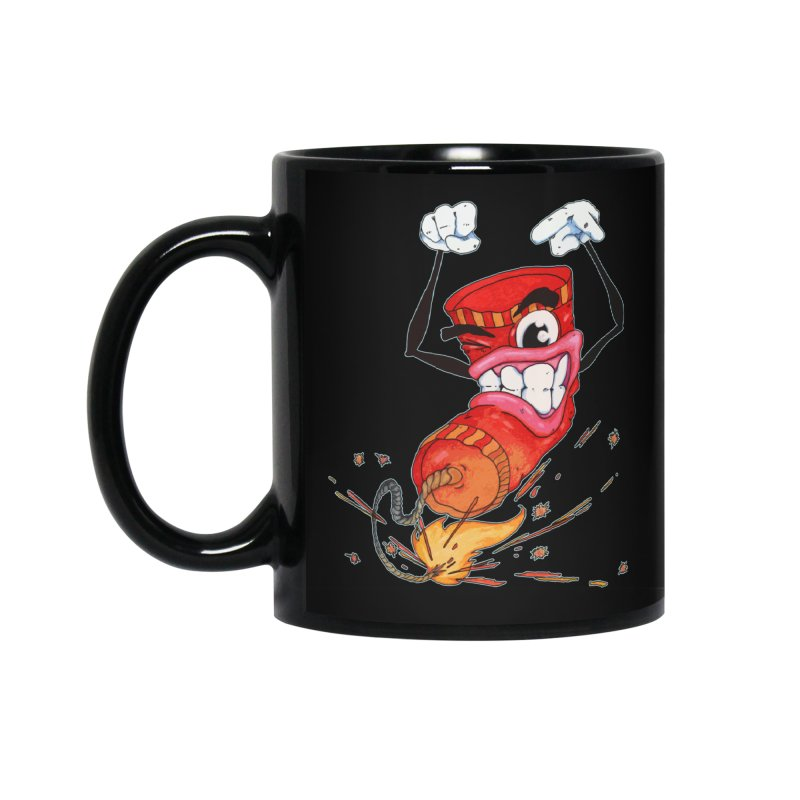 Spark Out Accessories Standard Mug by Norman Wilkerson Designs