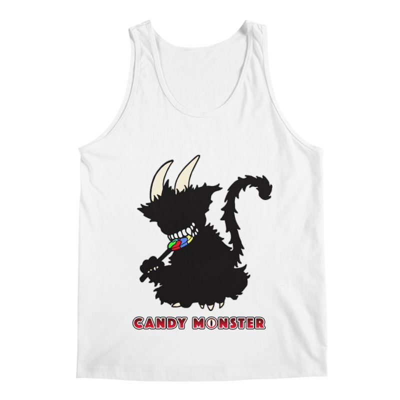Candy Monster Men's Regular Tank by Norman Wilkerson Designs