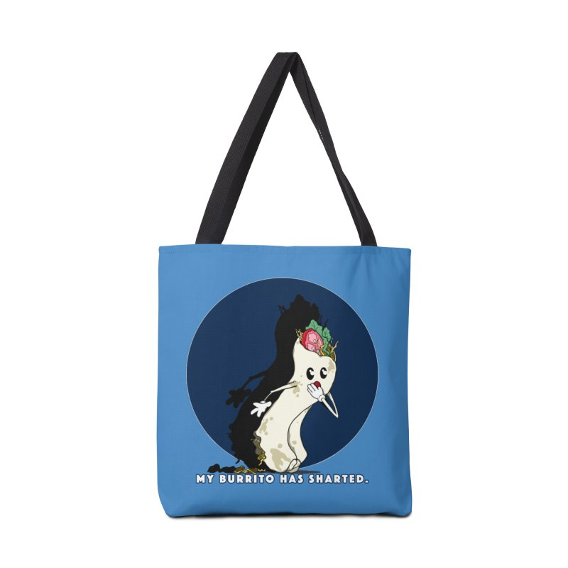 My Burrito Has Sharted Accessories Tote Bag Bag by Norman Wilkerson Designs