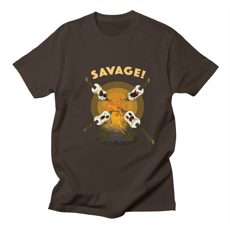 Savage Men's Regular T-Shirt by Norman Wilkerson Designs
