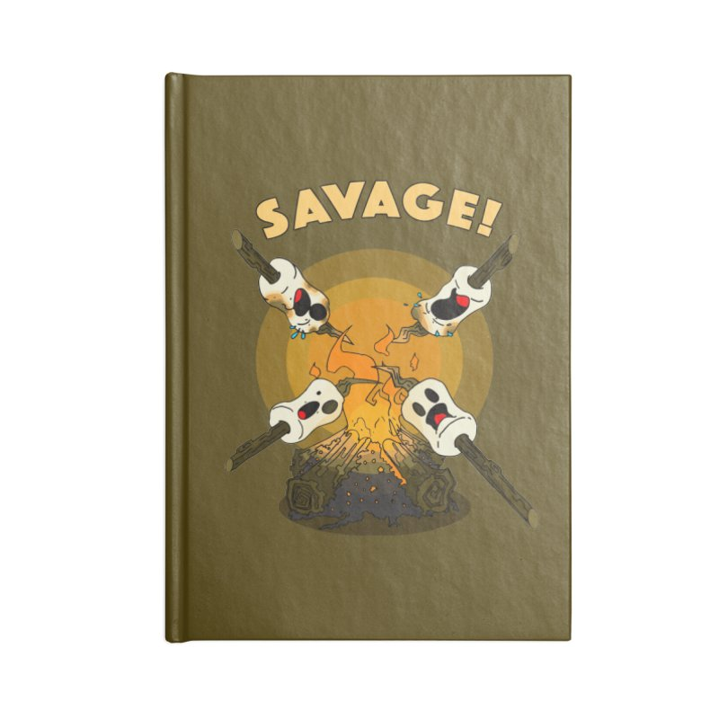 Savage Accessories Blank Journal Notebook by Norman Wilkerson Designs