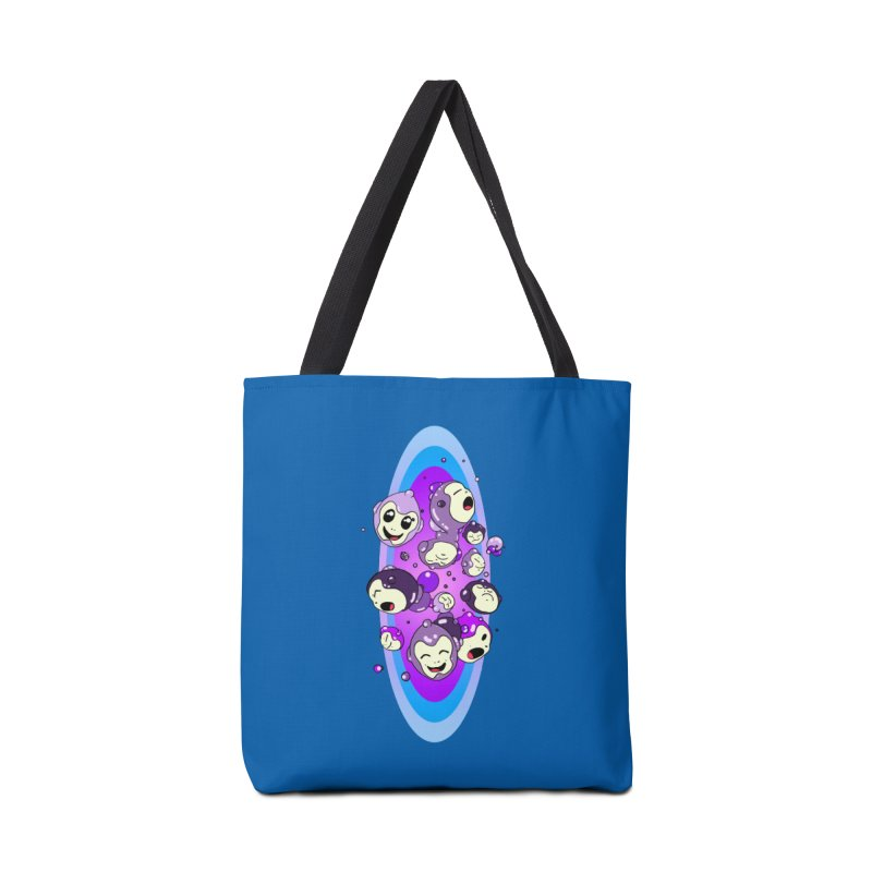 Bubble Man Accessories Tote Bag Bag by Norman Wilkerson Designs