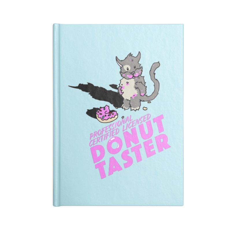 Donut Taster Accessories Blank Journal Notebook by Norman Wilkerson Designs