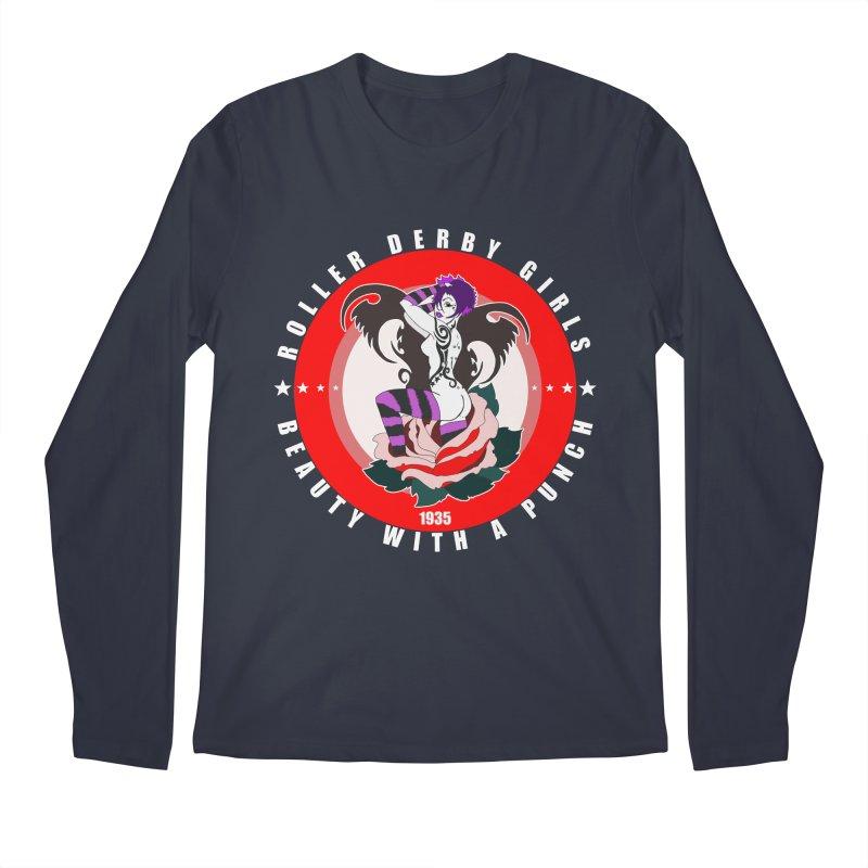 Roller Punch Men's Regular Longsleeve T-Shirt by Norman Wilkerson Designs