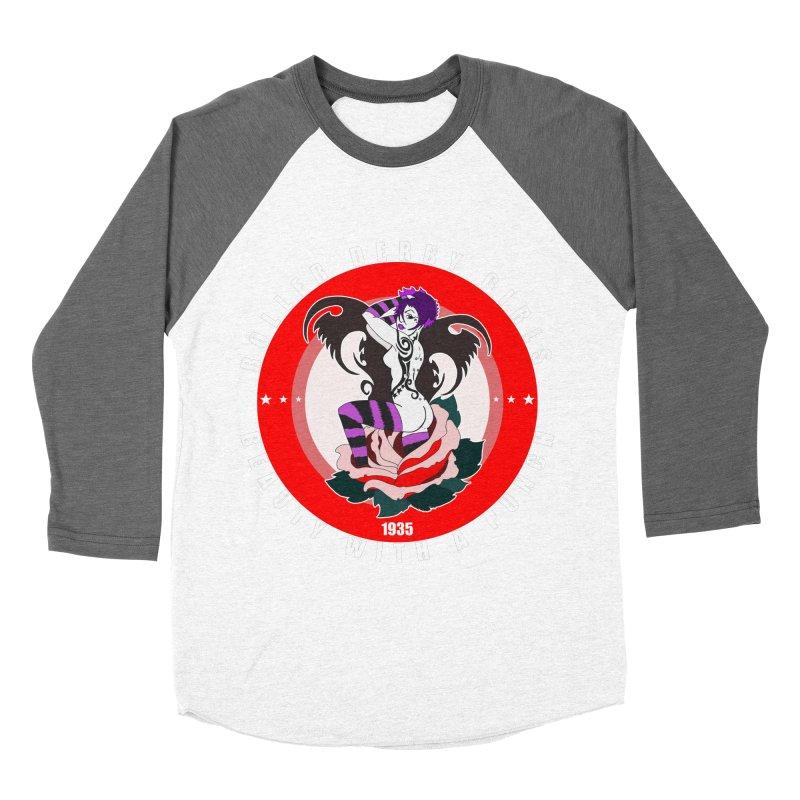 Roller Punch Women's Baseball Triblend Longsleeve T-Shirt by Norman Wilkerson Designs