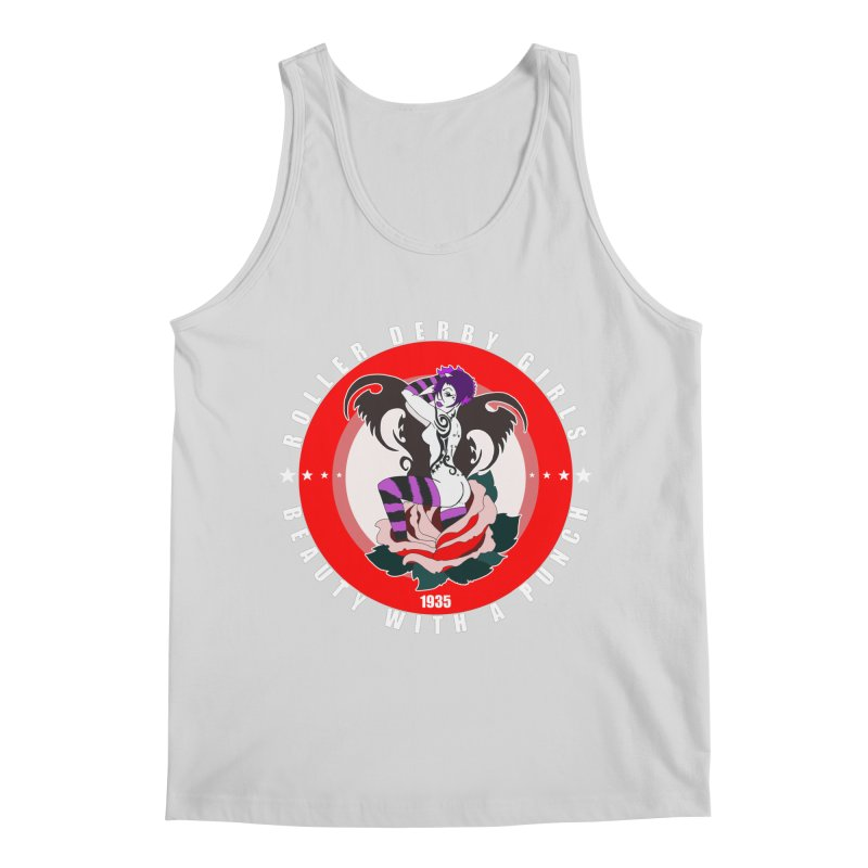 Roller Punch Men's Regular Tank by Norman Wilkerson Designs