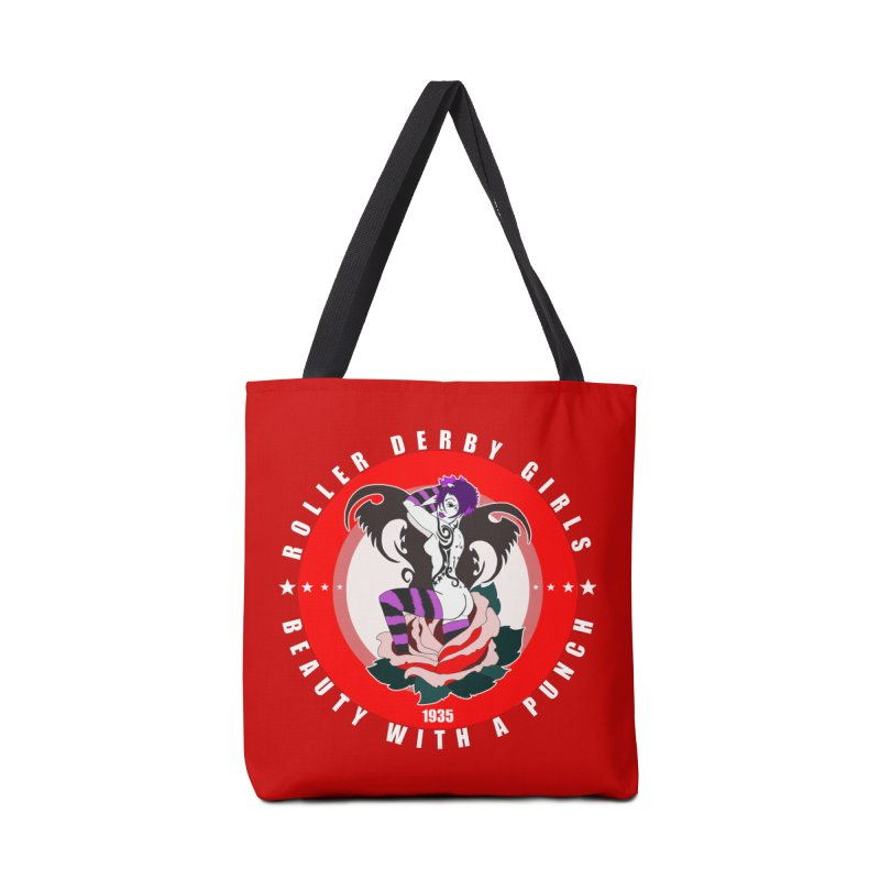 Roller Punch Accessories Tote Bag Bag by Norman Wilkerson Designs