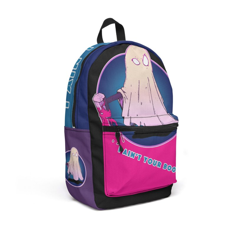 Ain't Your Boo Accessories Backpack Bag by Norman Wilkerson Designs