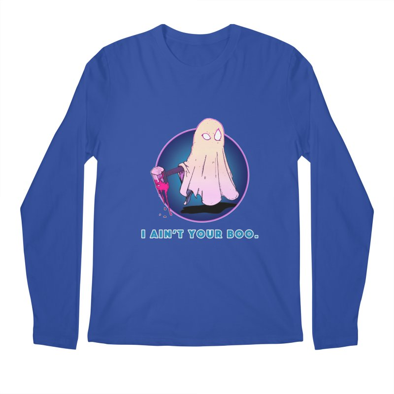 Ain't Your Boo Men's Regular Longsleeve T-Shirt by Norman Wilkerson Designs