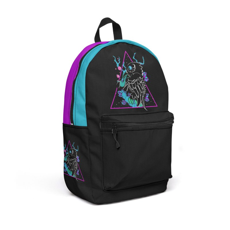 Stellar Crow Accessories Backpack Bag by Norman Wilkerson Designs