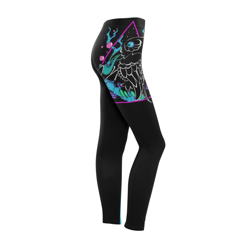 Stellar Crow Women's Bottoms by Norman Wilkerson Designs