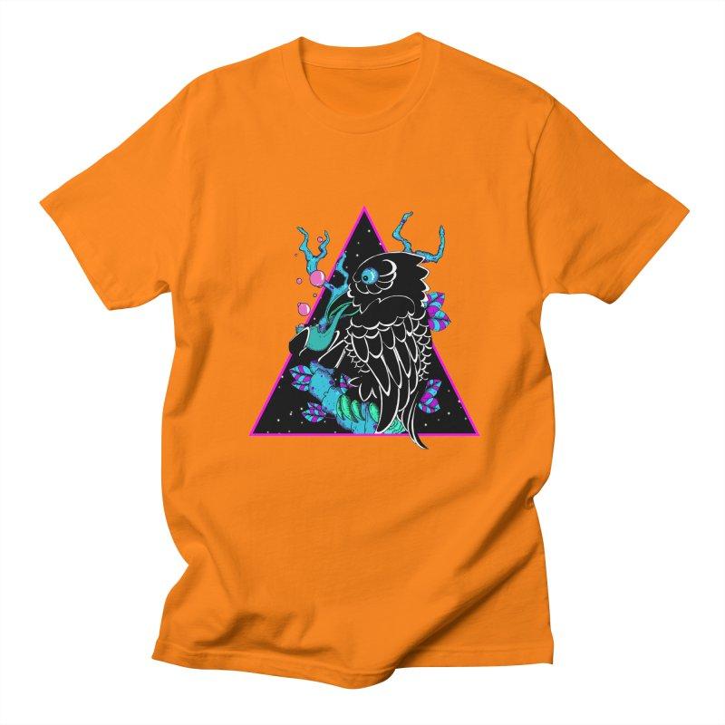 Stellar Crow Men's Regular T-Shirt by Norman Wilkerson Designs