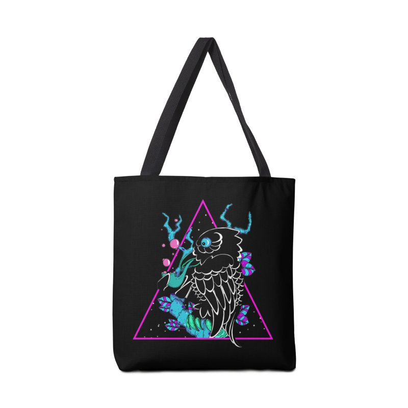 Stellar Crow Accessories Tote Bag Bag by Norman Wilkerson Designs