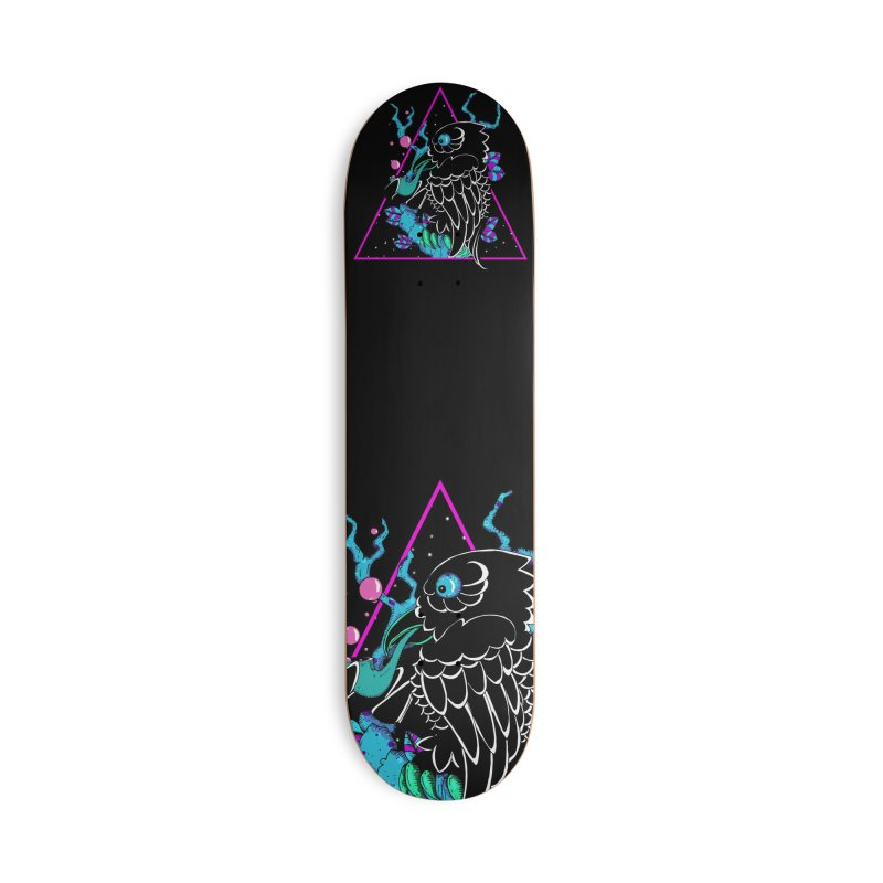 Stellar Crow Accessories Deck Only Skateboard by Norman Wilkerson Designs