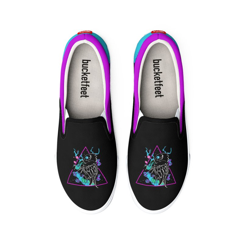 Stellar Crow Women's Shoes by Norman Wilkerson Designs