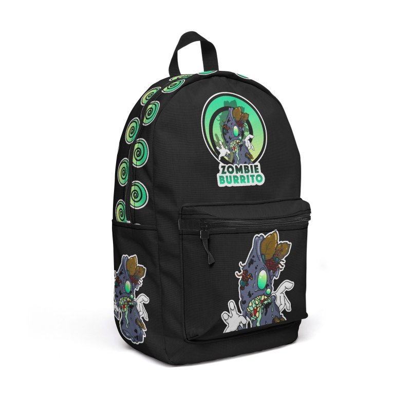 Zombie Burrito Accessories Backpack Bag by Norman Wilkerson Designs