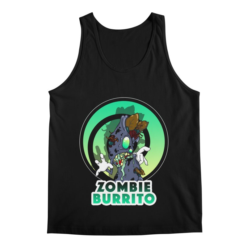 Zombie Burrito Men's Regular Tank by Norman Wilkerson Designs