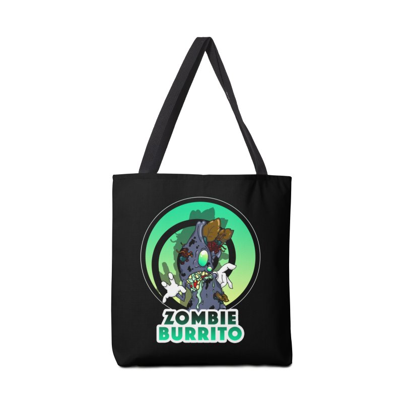 Zombie Burrito Accessories Tote Bag Bag by Norman Wilkerson Designs