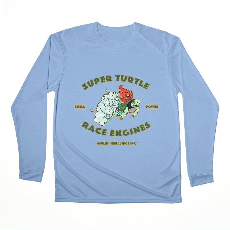 Super Turtle Engine Women's Performance Unisex Longsleeve T-Shirt by Norman Wilkerson Designs