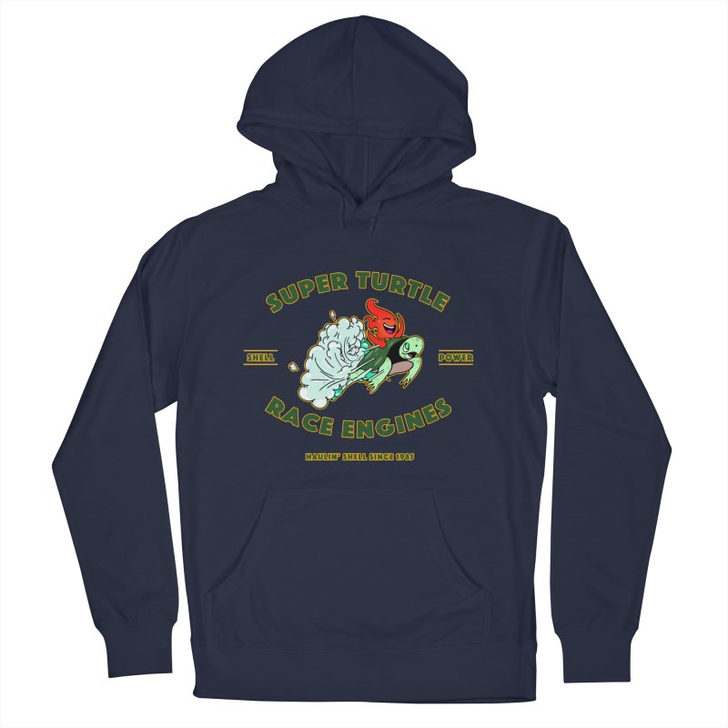 Super Turtle Engine Men's Pullover Hoody by Norman Wilkerson Designs