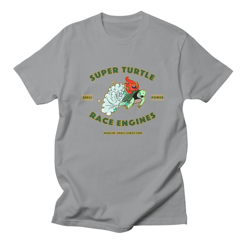 Super Turtle Engine Men's T-Shirt by Norman Wilkerson Designs