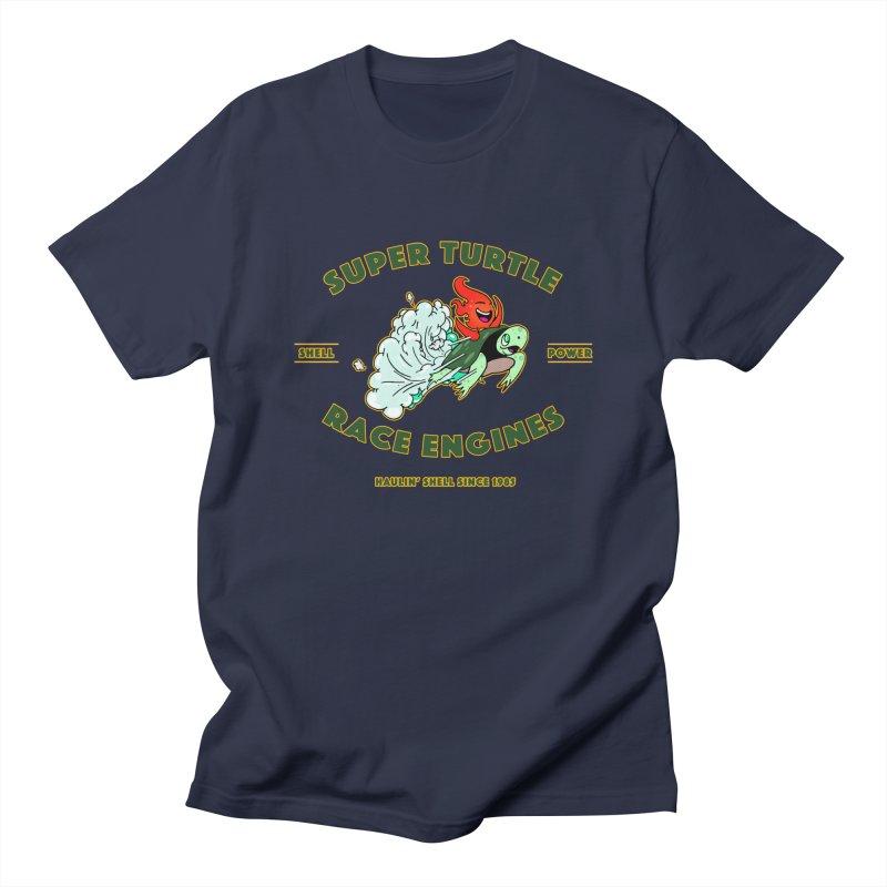 Super Turtle Engine Men's Regular T-Shirt by Norman Wilkerson Designs