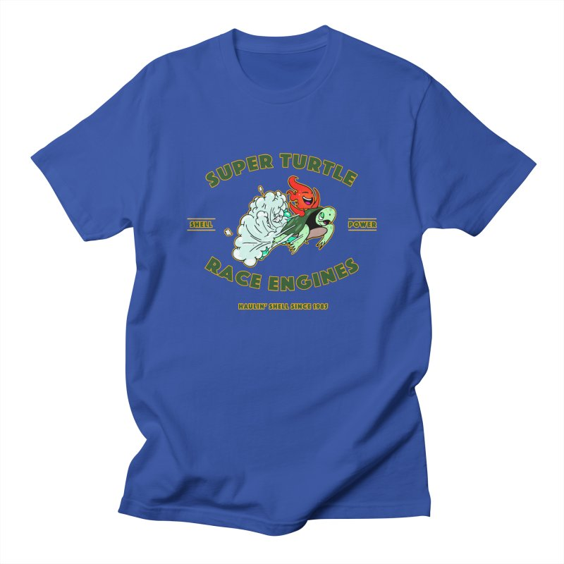 Super Turtle Engine Men's T-Shirt by Norman Wilkerson Designs