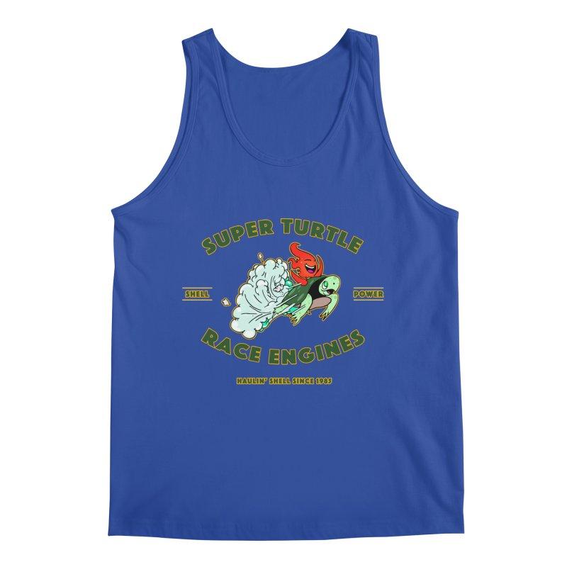 Super Turtle Engine Men's Regular Tank by Norman Wilkerson Designs