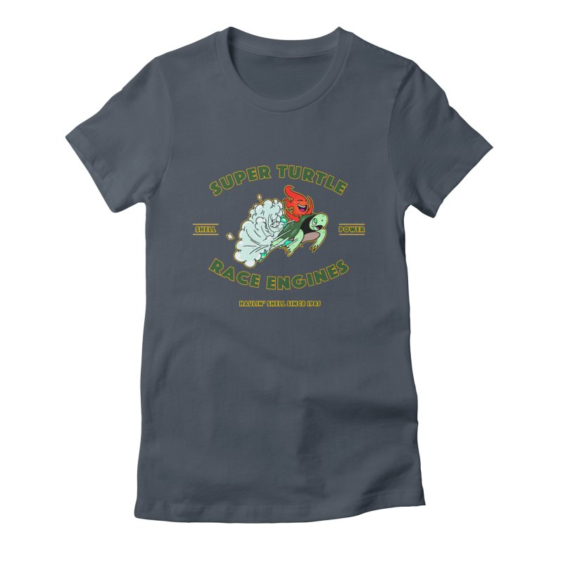 Super Turtle Engine Women's T-Shirt by Norman Wilkerson Designs