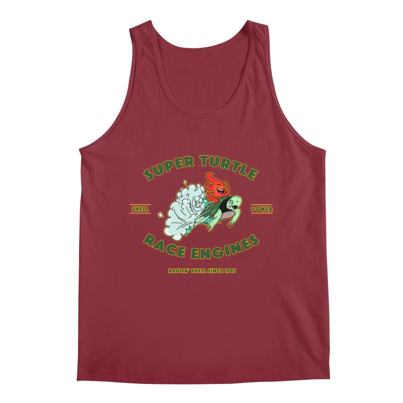 Super Turtle Engine Men's Regular Tank by Norman Wilkerson Designs